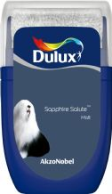 Dulux Sapphire Salute emulsion tester